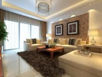 二居室-90平米-客厅装修设计