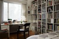 二居室-88平米-书房装修设计