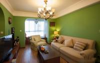三居室-90平米-客厅装修设计