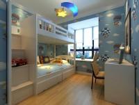 二居室-90平米-儿童房装修设计