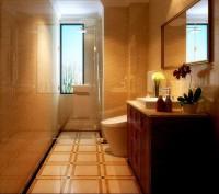 二居室-90平米-卫生间装修设计