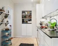 三居室-88平米-厨房装修设计