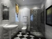 二居室-81.24平米-卫生间装修设计