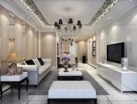 二居室-81.24平米-客厅装修设计