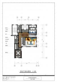 置信·原墅2幢501-四层平面图